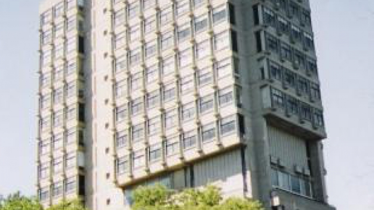 Law Tower before the retrofit